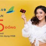 Ưu đãi hoàn tiền đến 3.5 triệu đồng cho hội viên Bamboo Club khi mở thẻ tín dụng MSB