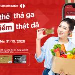 Quẹt thẻ thả ga - Hoàn điểm thật đã cùng Thẻ tín dụng Techcombank Visa