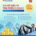 Cơ hội đầu tư trái phiếu C.O.N.I.C cùng VietABank