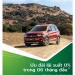 Vay mua ô tô Suzuki với lãi suất 0% trong 06 tháng đầu cùng Vietcombank