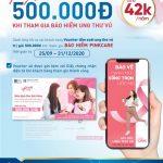 VBI tặng ngay voucher tầm soát ung thư vú khi mua PinkCare