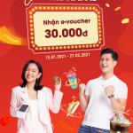 Chạm thẻ Napas nhận e-voucher 30,000 VNĐ tại Circle K cùng VRB