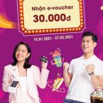 Dùng thẻ Bac A Bank - Nhận e-voucher 30.000 VND từ Circle K