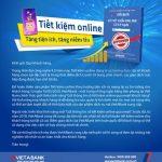 Tiết kiệm online - Tăng tiện ích, tăng niềm tin cùng VietABank
