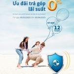 Chương trình ưu đãi trả góp dành cho khách hàng thanh toán phí bảo hiểm Generali qua thẻ và Pos của Eximbank