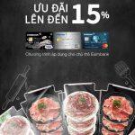 Ưu đãi 15% cho chủ thẻ tín dụng JCB Eximbank khi đến trải nghiệm ẩm thực Hoa tại Hong Kong Steam