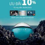 Ưu đãi 10% khi mua hàng tại Bvlgari chỉ dành riêng cho chủ thẻ Mastercard Eximbank