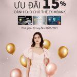 Ưu đãi 15% khi mua hàng tại Marc chỉ dành riêng cho chủ thẻ Mastercard Eximbank