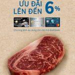 Ưu đãi 6% khi mua hàng tại Meat Works dành riêng cho chủ thẻ Eximbank