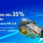 Ưu đãi 35% tại Agoda cho chủ thẻ tín dụng MB JCB
