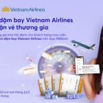 Tiết kiệm dặm bay – Cơ hội trúng cặp vé khứ hồi hạng thương gia Vietnam Airlines cùng MB