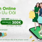 Mua sắm online - Bùng nổ ưu đãi - Giảm đến 300K tại Shopee, Tiki, Lazada cùng OCB