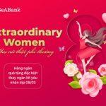 SeABank tri ân phụ nữ nhân ngày 8/3 với hàng nghìn quà tặng hấp dẫn