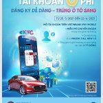 eKYC - Đăng ký dễ dàng - Trúng ô tô sang tại VietinBank