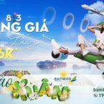 Đồng giá 36K cho tất cả các đường bay Bamboo Airways dành cho thẻ VRB