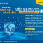 DongA Bank ưu đãi miễn phí chuyển tiền quốc tế dành cho khách hàng doanh nghiệp