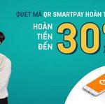 Quét mã QR SmartPay - Hoàn tiền mê say lên tới 30% với LienViet24h