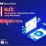 Chứng khoán online ngay trên App MBS Mobile