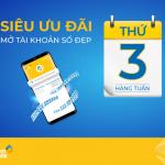 Thứ 3 hàng tuần: Miễn phí hoặc giảm tới 70% khi mở mới tài khoản tại PVcomBank