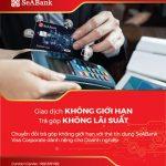 Giải pháp chi tiêu tối ưu cho Doanh nghiệp với Ưu đãi lãi suất 0% tại SeABank