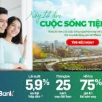 Mua nhà dễ dàng với lãi suất ưu đãi chỉ từ 5,9% tại VPBank