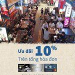 Ưu đãi 10% cho chủ thẻ Eximbank khi đến Hẻm Chill