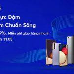 Ưu đãi giảm đến 35% cho chủ thẻ MB khi mua hàng Samsung