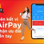 MSB ưu đãi chủ tài khoản MSB liên kết Airpay
