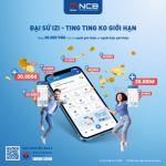 Giới thiệu và nhận thưởng không giới hạn với NCB iziMobile
