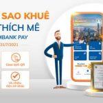 Sacombank Pay ưu đãi mừng giải Sao Khuê