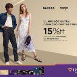 Ưu đãi độc quyền từ Sandro & Maje khi mua sắm với Thẻ TPBank