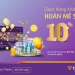 Hoàn tiền lên đến 1.000.000 đồng với thẻ Visa Debit TPBank Doanh nghiệp