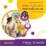 Hàng ngàn quà tặng hấp dẫn lên đến 1.6 tỷ đồng khi mua bảo hiểm Sun Life tại TPBank