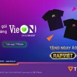 Sở hữu áo Rap Việt cùng TPBank và VieON