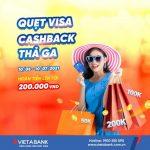 Quẹt Visa - Cashback thả ga cùng VietABank