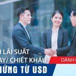 Ưu đãi lãi suất cho vay, Chiết khấu bộ chứng từ USD dành cho khách hàng VietABank