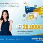 Tặng tiền mặt cho khách hàng khi đổi, mở thẻ chip nội địa BaoViet Bank