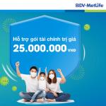 BIDV MetLife hỗ trợ tài chính cho khách hàng dương tính với SARS-CoV-2