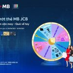 Lướt thẻ MB JCB - Đón vận may, Quà về tay
