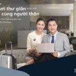 Tận hưởng dịch vụ phòng chờ thương gia cùng người thân với thẻ tín dụng MB Priority Visa Platinum