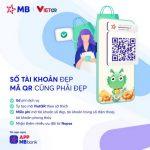 MB tiên phong triển khai tính năng tự tạo và thanh toán VietQR không tiền mặt