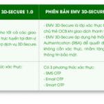 OCB nâng cấp hệ thống bảo mật trực tuyến EMV 3DS