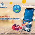 Ưu đãi cực chất với ứng dụng SaiGonBank Smart Banking