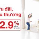 Techcombank tặng gói bảo hiểm trị giá đến 2.9%/ giá trị dư nợ khi duy trì khoản vay