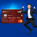 Mở thẻ tín dụng VIB hoàn 100% phí thường niên