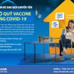 VietABank miễn phí giao dịch chuyển tiền tới tài khoản của Quỹ vắc xin phòng Covid-19