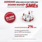 Agribank tiếp tục dành 30.000 tỷ đồng để đồng hành và phát triển cùng doanh nghiệp SMEs
