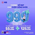 Combo ưu đãi tài khoản số đẹp cho cuộc sống khỏe chỉ 999K tại MB
