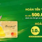 Hoàn tiền deal đứng dùng cho chủ thẻ ghi nợ quốc tế OCB MasterCard