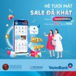 Sale hè siêu cấp, sắm đồ cực chất ngay trên ứng dụng VietinBank iPay Mobile